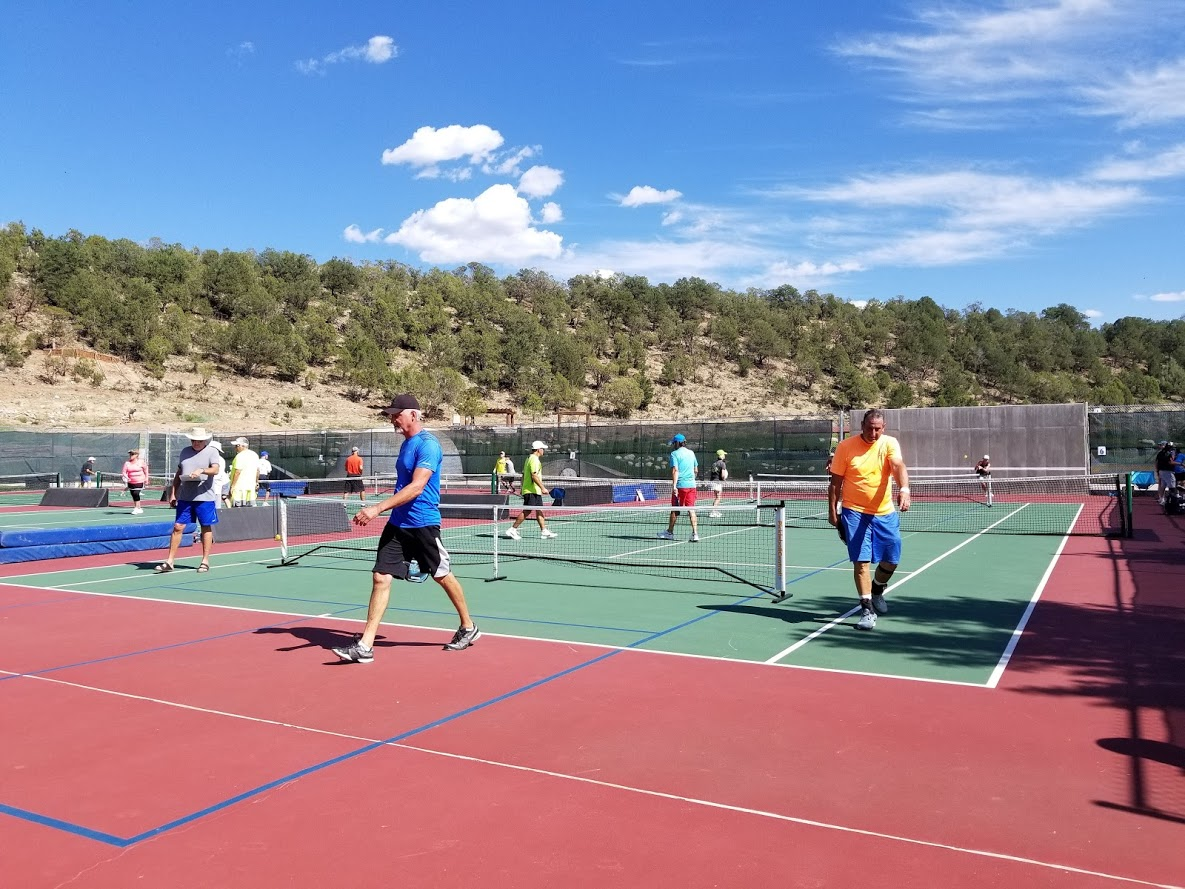 outdoor pickleball